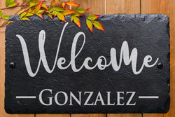 House Welcome Sign