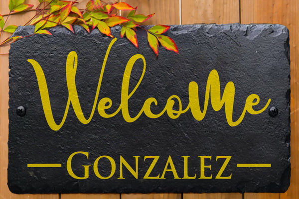 House Welcome Sign - Miracle Prints