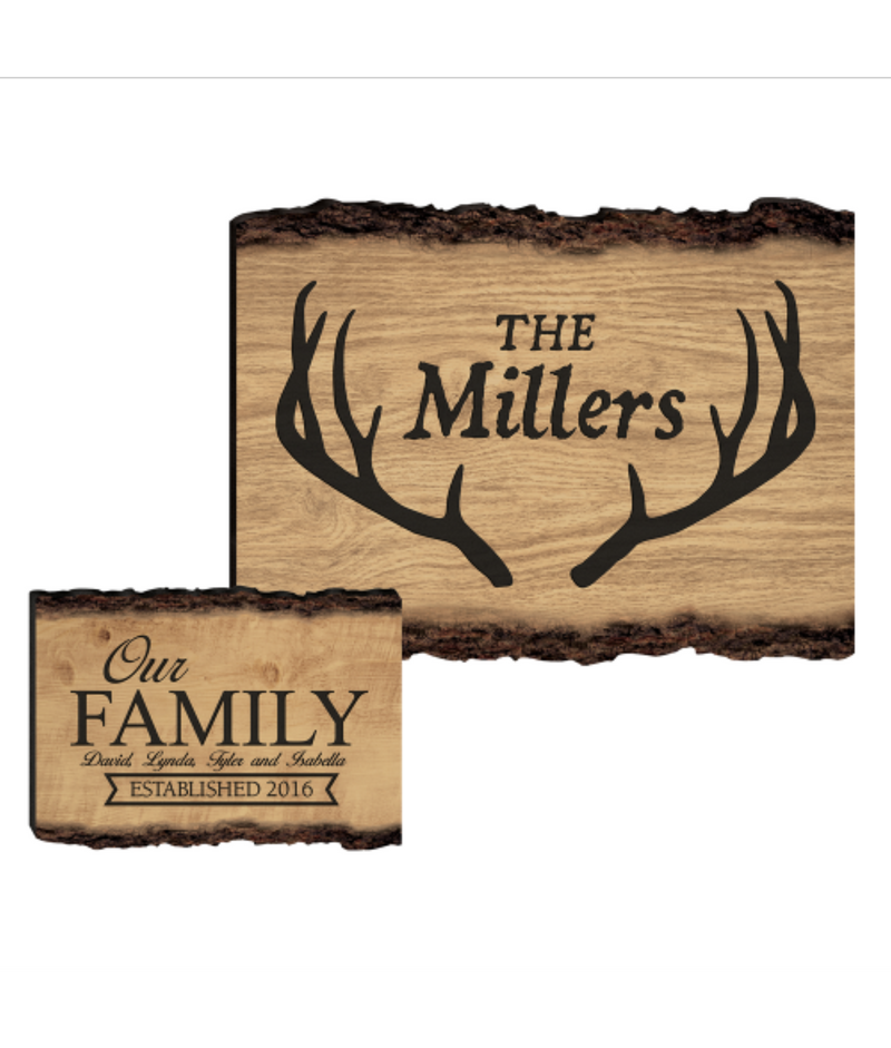 Wooden Cabin Sign - Miracle Prints
