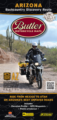 Arizona Backcountry Discovery Route Map