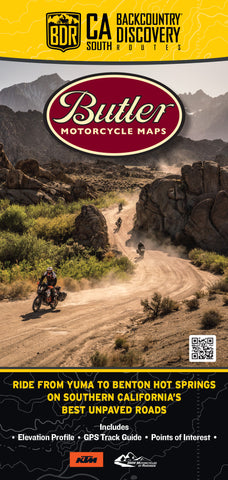 California-South Backcountry Discovery Route Map