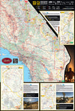 California-South Backcountry Discovery Route Map - FLÂNEUR
