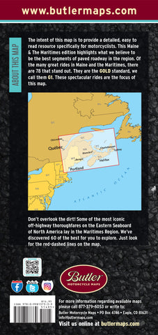 Maine & The Maritimes G1 Map