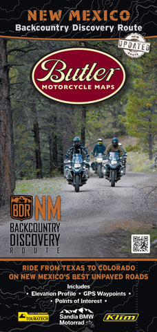 New Mexico Backcountry Discovery Route Map