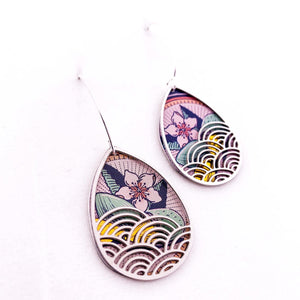 Rolling Wave Earrings