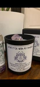 Don't F*ck With My Magick Ritual Candle