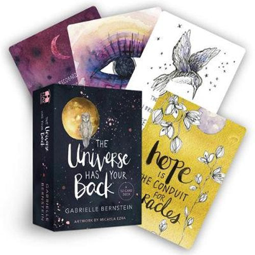 The Universe Has Your Back Oracle Cards AND Book by Gabrielle Bernstein