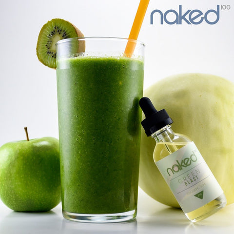 Naked 100 - Green Blast - Vape Luxury
