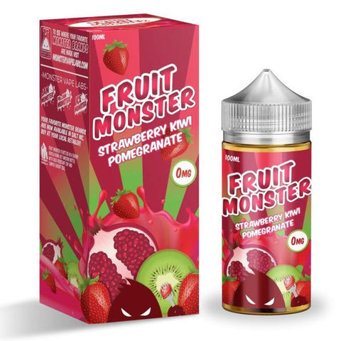 Fruit Monster - Strawberry Kiwi Pomegranate - Vape Luxury