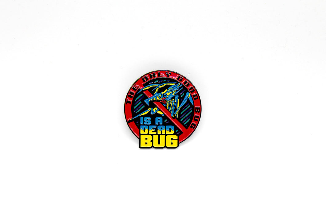 Zobie Box - Starship Troopers - Good Bug Fan Art Inspired Lapel Pin