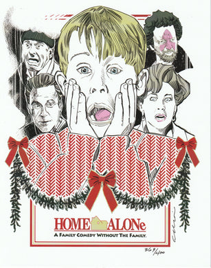 Home Alone 8x10 Fan Art Print by Elliot Fernandez