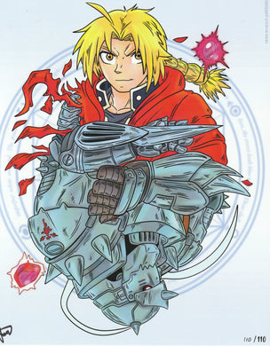 Fullmetal Alchemist: Brotherhood 8x10 Fan Art Print by Josh C. Lyman