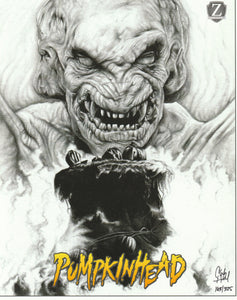 Pumpkinhead 8x10 Fan Art Print by Chadwick Haverland