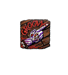 Zobie Fright Pack - Evil Dead - Groovy Fan Art Inspired Lapel Pin