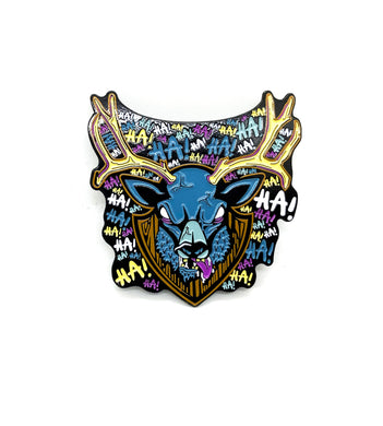 Zobie Fright Pack - Evil Dead - Deer Fan Art Inspired Lapel Pin
