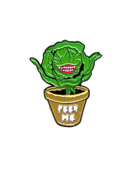 Zobie Fright Pack - Little Shop of Horrors Audrey Fan Art Inspired Lapel Pin