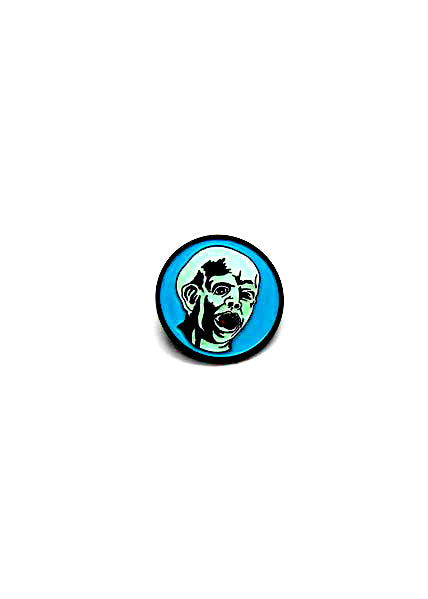 Zobie Fright Pack - Friday the 13th First Jason Fan Art Inspired Lapel Pin - G.I.T.D