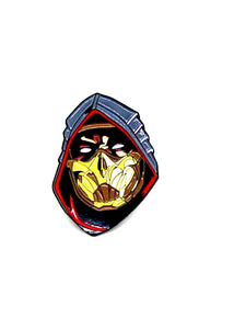 Zobie Gamer - Mortal Kombat Scorpion Fan Art Inspired Lapel Pin