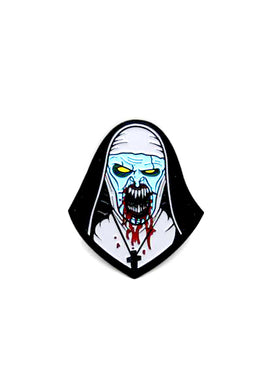 Zobie Fright Pack - The Nun Fan Art Inspired Lapel Pin