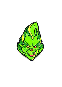 Zobie Box - Grinch Fan Art Inspired Lapel Pin