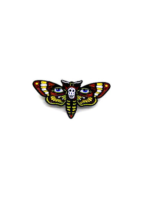 Zobie Fright Pack - Silence of the Lambs MOTH Art Inspired Lapel Pin - Variant