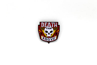Zobie Box - Starship Troopers - Death from Above Fan Art Inspired Lapel Pin - Variant