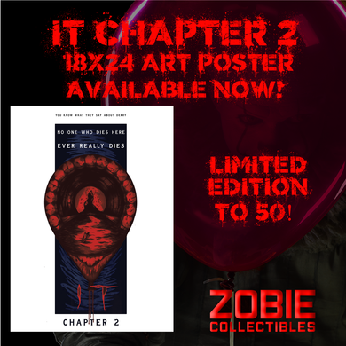 Artist Showcase: IT Chapter 2 18x24 Art Poster by Benjamin Larance