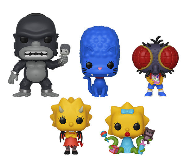 (Pre-Order) Funko POP! Animation: Simpsons S3 Complete Set