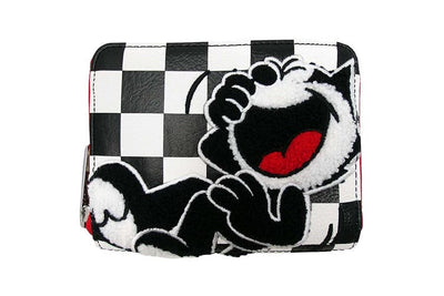 Felix The Cat - Loungefly Check Print Purse