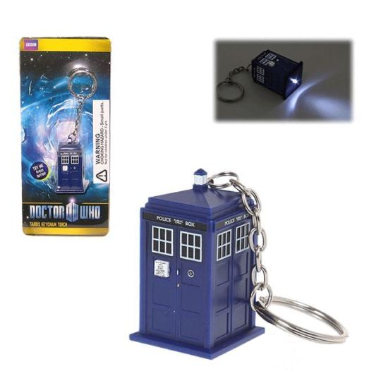 Tardis Key Ring