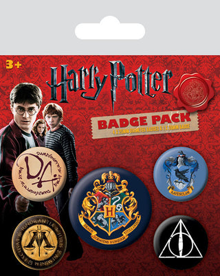 hogwarts badge pack