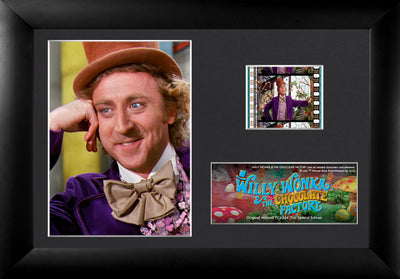 Willy Wonka and the Chocolate Factory Framed FilmCells