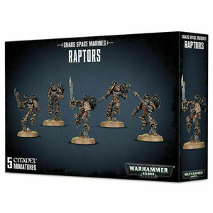 Warhammer 40,000 Chaos Space Marines Raptors