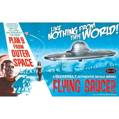 1/48 Plan 9 From Outer Space Flying Saucer Plastic Model Kit