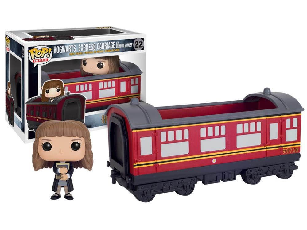 Hogwarts Express Carriage With Hermione Granger Pop Vinyl