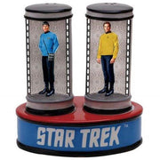 Star Trek Salt&Pepper Shakers Spock & Capt.Kirk in transporter