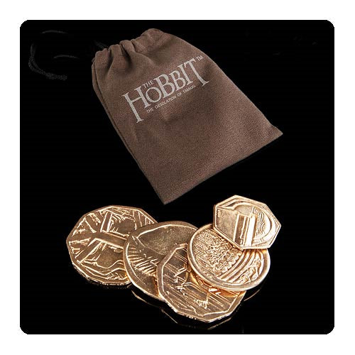 The Hobbit The Desolation of Smaug 5 Coin Smaug Pouch