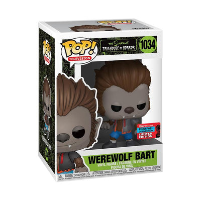 Simpsons - Bart Wolfman Pop! NY20 RS