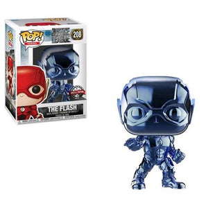 Justice Leage - Flash Pop #208 Blue Chrome