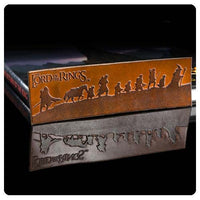 Lord Of The Rings - Leather Bookmark - Fellowship Silhouete