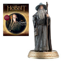 The Hobbit Gandalf at Bag End Figure w Magazine