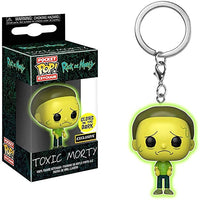 Toxic Morty Pop Keychain