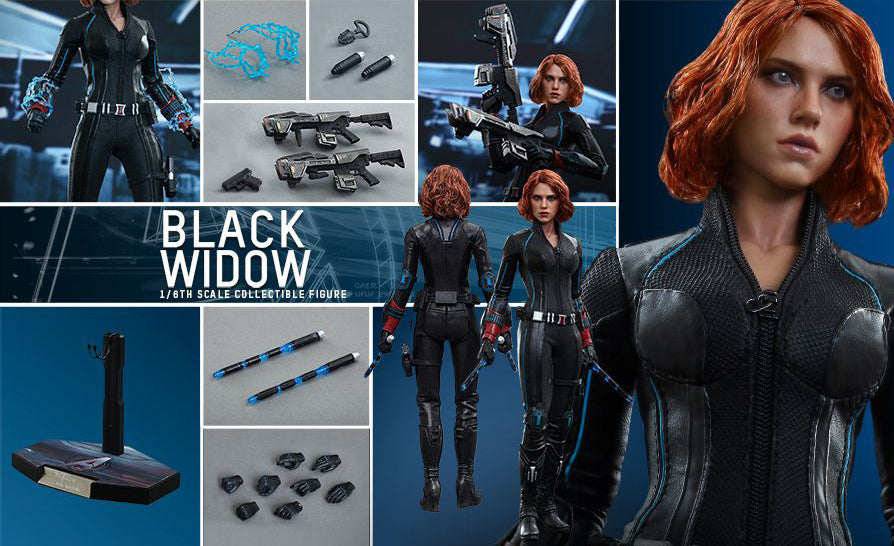 Avengers Black Widow Hot Toys Mms288 The Sell Block