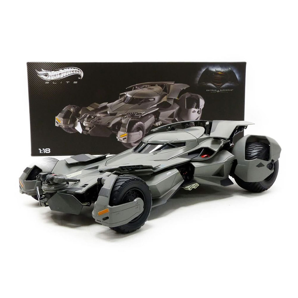 1:18 batman vs superman movie batmobile elite Hot Wheels
