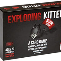 Exploding Kittens Card Game Nsfw Deck