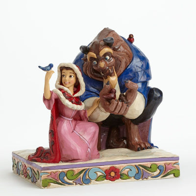 Disney Traditions Statue Beauty And The Beast Something There