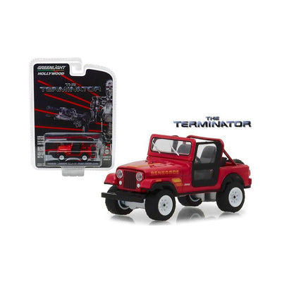 The Terminator 1983 Jeep CJ-7 Renegade 1:64