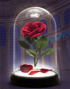 Beauty and the Beast Enchanted Rose Light