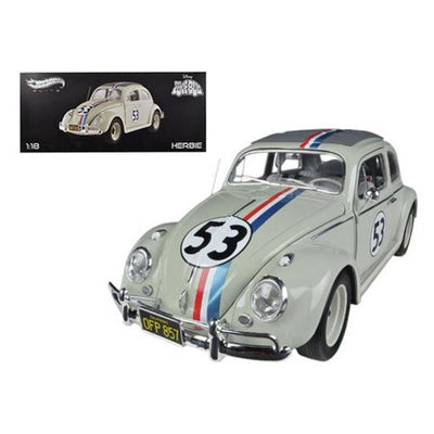 1962 vw the love bug herbie 1:18 Elite Hot Wheels