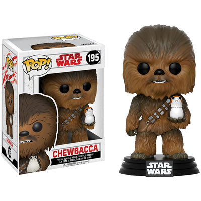Chewbacca With Porg Pop! #195